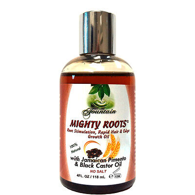 Fast Hairline Edge and Hair growth oil/Jamaican Pimento and Black Castor Oil ()
