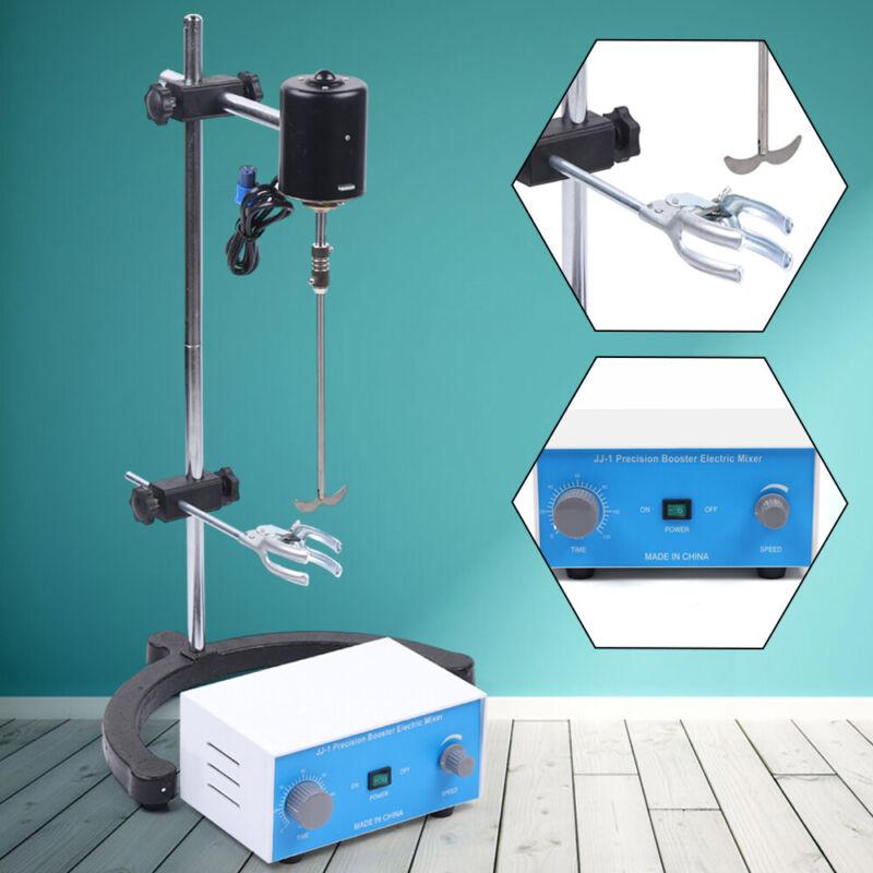 Lab Mixer Tool Electric Overhead Stirrer High-Viscosity Liquid Solution 110V NEW