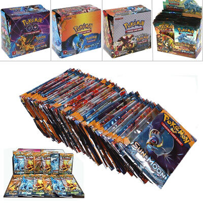324 pcs Pokemon TCG Booster Box English Edition Breakpoint 36 packs cards Gifts