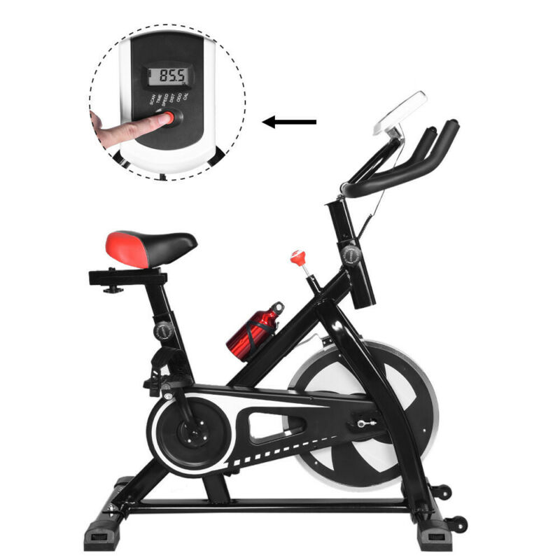 Indoor Stationary Exercise Bike Fitness Cycling Spin Bicycle