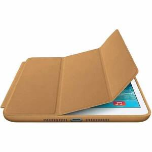 Genuine Apple iPad Mini Leather Smart Case - Brown Surry Hills Inner Sydney Preview