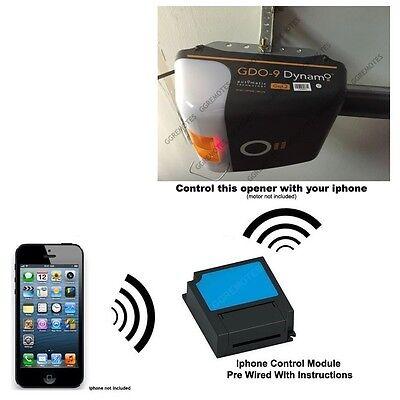 Iphone Remote Control Your ATA Dynamo GDO-9 GDO-9V3 Garage Door Opener GEN2