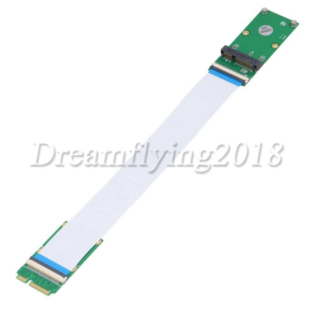 как выглядит Mini PCI Express PCI-e 52-pin Card Extender Extension Flexible Cable Test Tools фото
