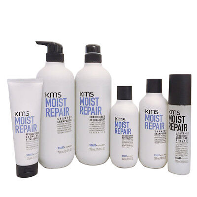 KMS MOIST REPAIR Shampoo Conditioner Revival creme **Choose your items**