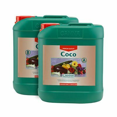 Canna Coco A+B 10 Litre Veg And Flower Plant Food Base Nutrients Hydroponics