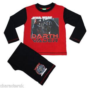 Boys Star Wars Pyjamas   Clone Wars PJs   Darth Vader & Yoda PJ   NEW