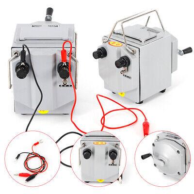 1000m 1000v Megger Meter Insulation Tester Resistance Meter 120 Rpm Us Stock