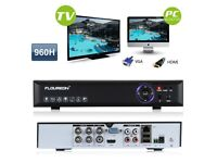 8CH 960H HDMI DVR 900TVL CCTV FIT UP TO 8 CAMERAS O VIEW WORLDWIDE