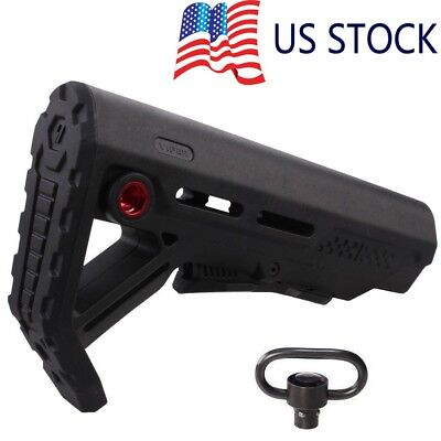 Collapsible Style Viper MOD-1 Stock Buttstock w/ QD Sling Mount Mil-Spec