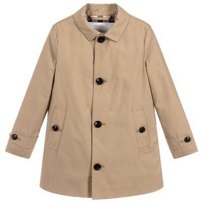 Trench Coat Boys (NWT NEW Burberry Bradley kids boys honey beige trench coat 4 5 6 7)