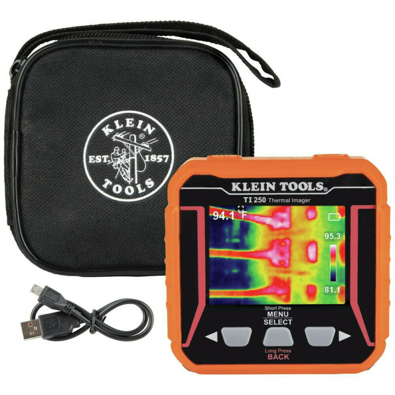 Klein Tools TI250 Rechargeable Thermal Imager Kit New