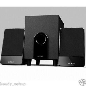 2.1 TV Speaker System Subwoofer Compact Surround Sound - Compatible Samsung LED