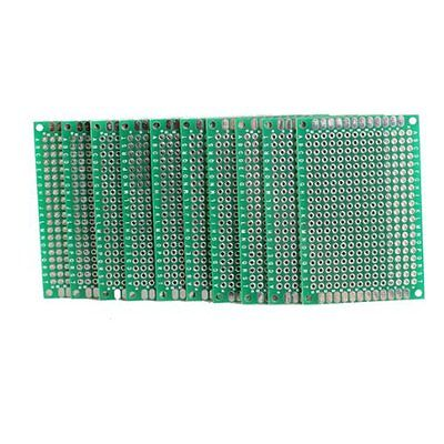 510pcs 4x6cm Double Side Prototype Pcb Universal Printed Circuit Board Us Ship
