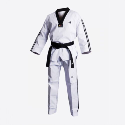 adidas Taekwondo ADIFLEX Uniform With Stripes - TFL02