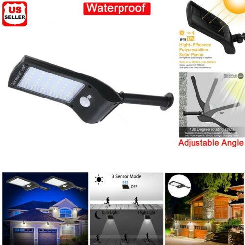 36 LED Solar Lights PIR Motion Sensor Waterproof Outdoor Garden Yard Wall Lamp Home & Garden