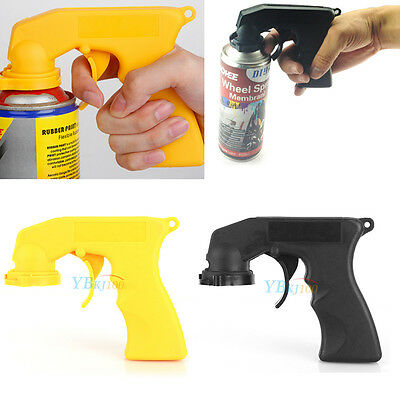 Car Auto Aerosol Spray Painting Can Gun Plastic Handle With Full Grip (Car Paint Cans)