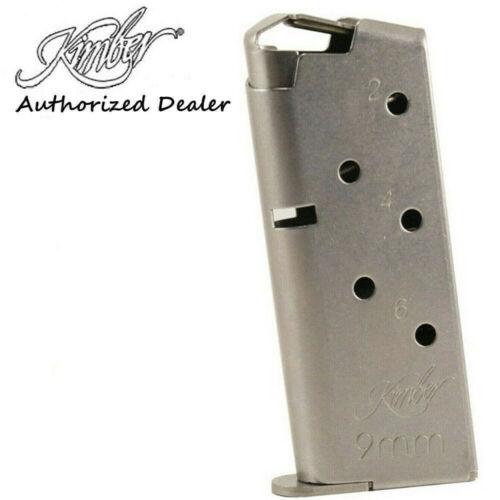 Kimber Micro 9, 9mm 6-Round Magazines 1200846A