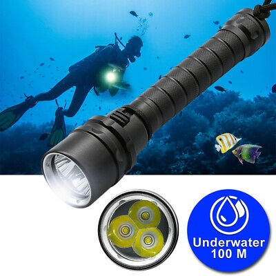 Princeton Tec Torrent LED Scuba Diving Light Dive Divers Torch Snorkel Snorkeling Light Authorized Dealer Full Warranty