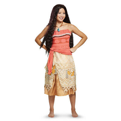 Womens Deluxe Moana Disney Halloween - Disney Halloween Costumes For Women