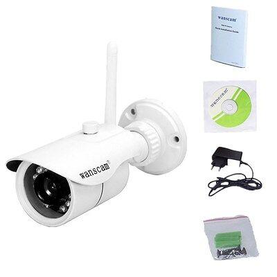 WANSCAM Outdoor 720P HD IP WiFi Wireless Network Security Waterproof Camera