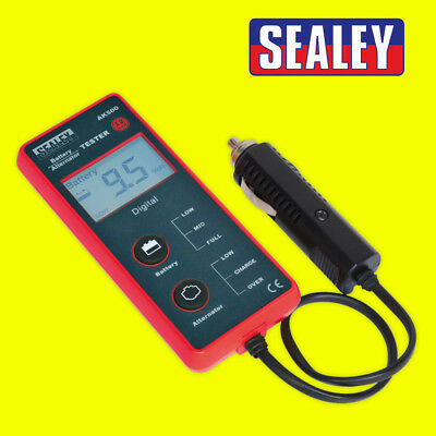 Sealey AK500 Car Van Battery & Alternator Tester 12V 12 VOLT - LCD Screen