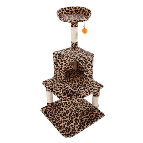 """20""""-72"""" Cat Tree  Condo Furniture Scratching Post Pet Kitty Play House"""