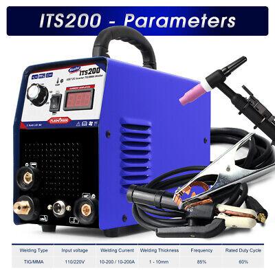 Welding Machine 2in1 Stainlesscarbon 200amp Tigmma Welder Tig Torch