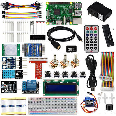 Ultimate Starter Learning Kit For Raspberry Pi 3 Power Supply 5v 2.5a 16gb Card