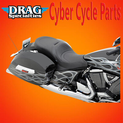 Drag Specialties LOW-PROFILE TOURING SEATS FOR VICTORY OEM BACKREST