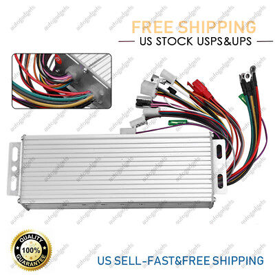 For Electric E-bike Scooter Brushless Dc Motor Speed Controller 48-72v 1500w