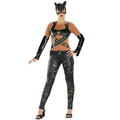 Rubies Adult DC Comic Batman Catwoman Super Hero Costume Size Small 6-10](Rubies Catwoman Costume)