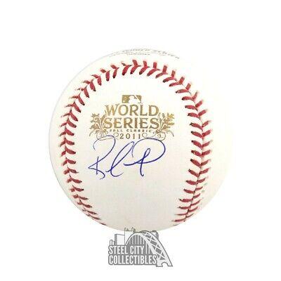 Rafael Furcal Autographed Official 2011 World Series Baseball - BAS -