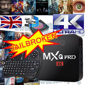 New 2017 MXQ Pro 4K Android TV Box With Free Keyboard