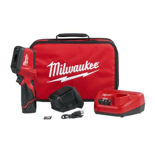 Milwaukee 2258-21 M12 12-Volt Thermal Imager Kit 1.5Ah Battery, Charger and Bag