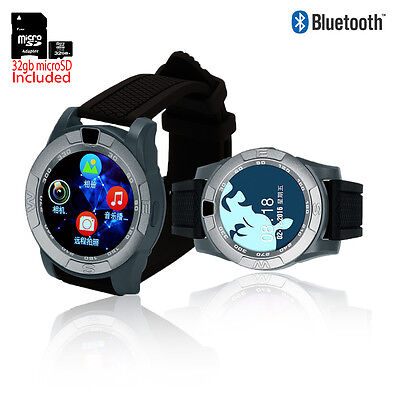 New Gsm Unlocked Watch   Smartphone   Android Os   Camera   32Gb Sd Best Gift
