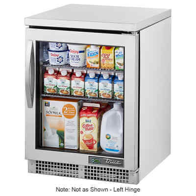 True Tuc-24g-hcfgd01 24 W Undercounter Refrigerator W 1 Section 1 Door 115v