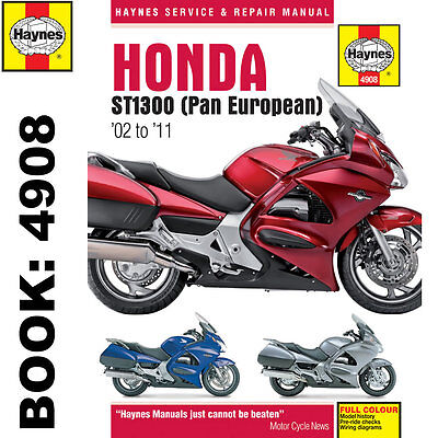 Honda ST1300 Pan European 2002-2011 Haynes Workshop Manual