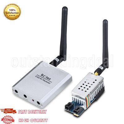 FPV 5.8Ghz 2W 8-Ch Wireless Audio Video AV Transmitter TS58-2W Receiver RC305 5.8 Ghz Wireless Audio