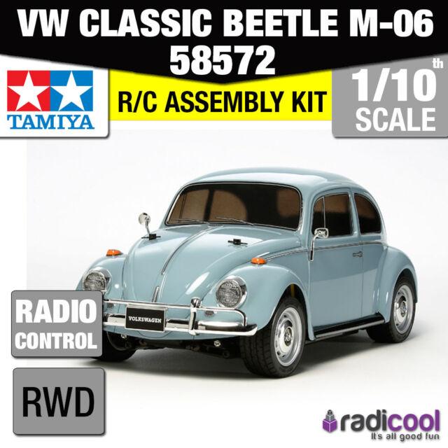 58572 TAMIYA VW CLASSIC BEETLE M-06 1/10th R/C KIT RADIO CONTROL 1/10 CAR NEW!