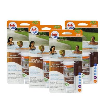 HTH Spa & Hot Tub Natural Clarifier Tablets - 32 Tablets