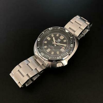 STEELDIVE SD1970 200M Automatic Turtle Diver Watch NH35 Movement **UK**