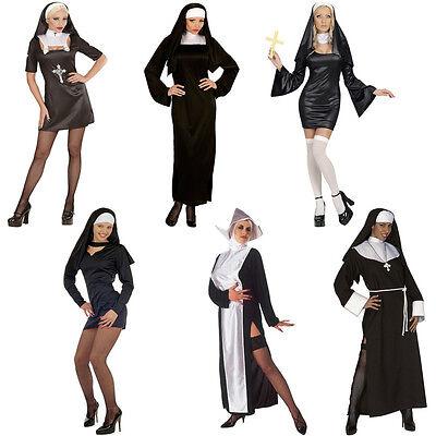 Nun Catholic Church Fancy Dress Religious Sister Holy Halloween Hen Party Mary (Religious Halloween Party)