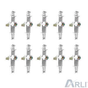 10 x Netzwerkstecker Werkzeuglos RJ45 CAT LAN UTP Kabel Stecker ohne Werkzeug