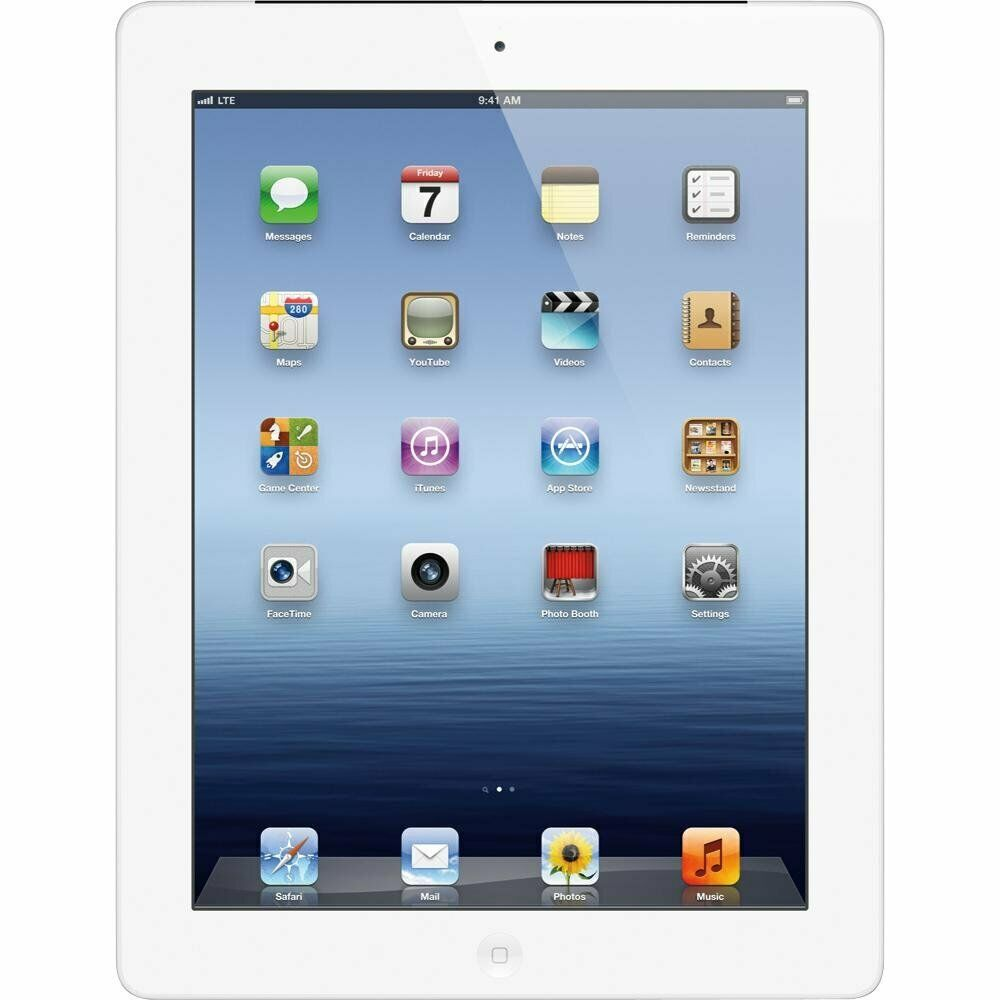 Apple iPad 3rd Gen 64GB WiFi Cellular Verizon White Tablet MD365LL/A