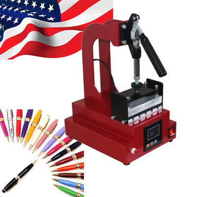 Usa - 110v 3d Sublimation Pen Heat Press Machine Ballpoint Heat Transfer Machine