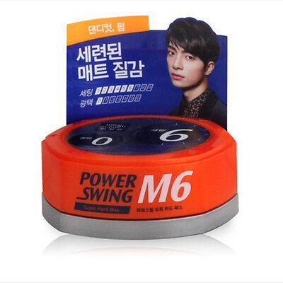 MiseEnScene Power Swing Hair Wax 80g Styling Man Korea Amore M6 Super Hard