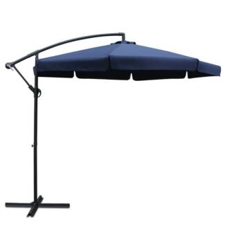 Outdoor Umbrella Navy 3M