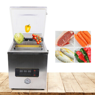360w Vacuum Packing Sealing Machine Sealer Packaging Industrial Chamber 2l -110v