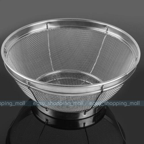 Useful Mesh Colander Strainer Sifter Sieve Stainless ...
