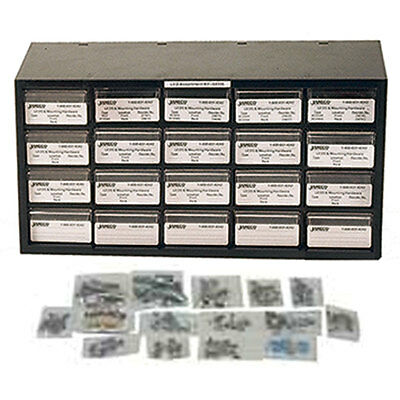 Jameco Valuepro 81867 240 Piece Radial Capacitor Component Kit